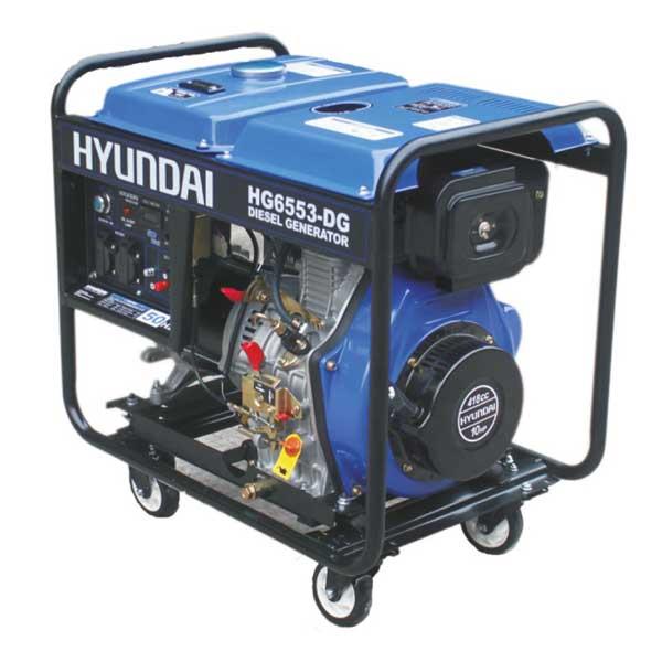 موتور برق 5.3 کيلووات گازوئيلي HG6553-DG هيونداي